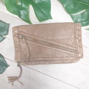 Converse holdover clutch purse